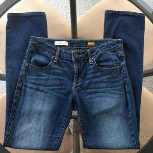 Anthropologie [Pilcro] Low Rise Straight Jeans